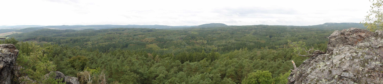 Výhled z Vraní skály