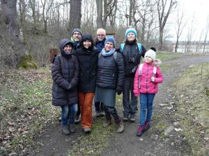 Skupina na začátku vycházky (foto OK)