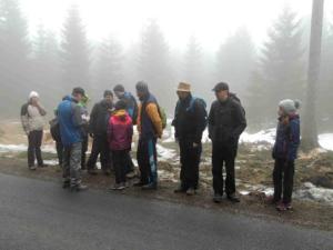 Ráno o Bílé sobotě bylo mlhavé a chladné