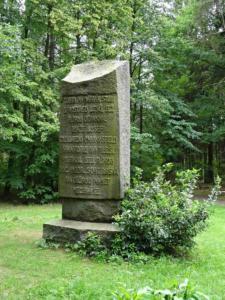 Pomník sv. Václava (zadní strana)