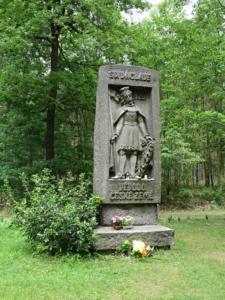 Pomník sv. Václava (přední strana)