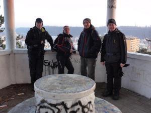12/2012, Velvarsko, vyhlídka Hostibejk