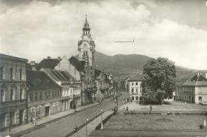 Václavské náměstí kolem roku 1962 (repro z fotohistorie.cz)
